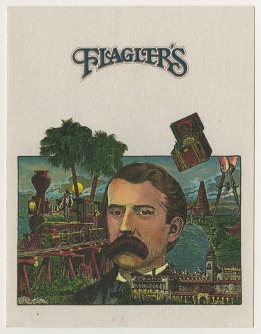 Flagler's Menu - ID: augdismenu20295 Disneyana