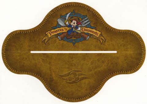 Pirates in the Carrbean Kids Menu - ID: augdismenu20387 Disneyana