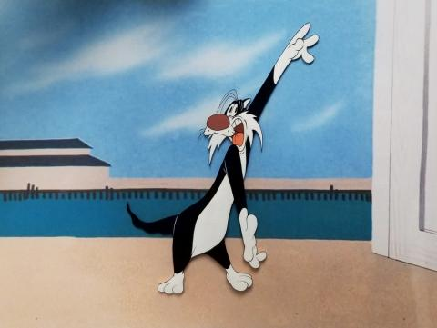 Hoppy-Go-Lucky Production Cel - ID: augsylvester20245 Warner Bros.