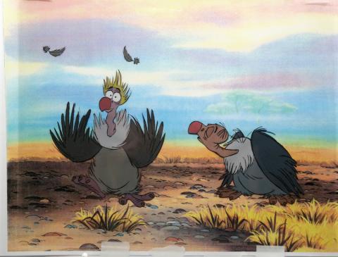 Jungle Book Production Cel - ID: decjungle19126 Walt Disney