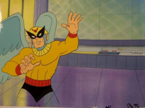 Birdman Production Cel - ID: febhan26 Hanna Barbera