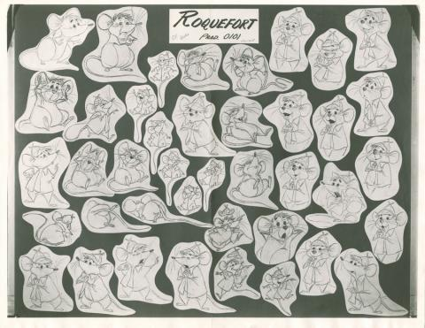 Aristocats Photostat Model Sheet - ID: janmodel20114 Walt Disney
