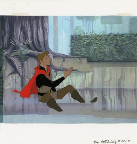 Sleeping Beauty Production Cel - ID: jansleeping20069 Walt Disney