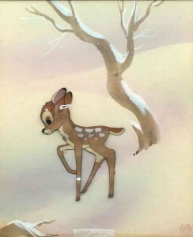 Bambi Production Cel - ID: julybambi20324 Walt Disney