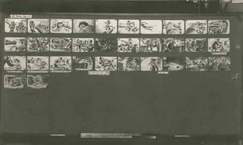 The Great Mouse Detective Photostat Storyboard Sheet - ID: julydetective20114 Walt Disney
