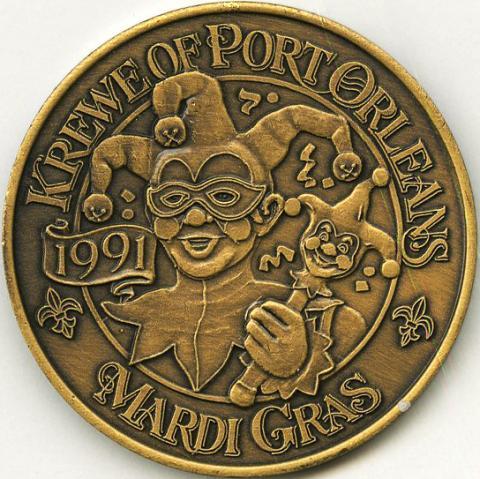 Port Orleans Resort Opening Commemorative Medallion - ID: julydisneyana20277 Disneyana