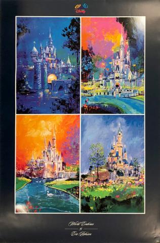 World Embrace Disney Parks Castles Poster - ID: julydisneyana20379 Disneyana
