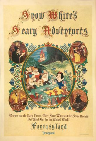 Snow White's Scary Advendtures Print - ID: julysnowwhite20320 Walt Disney