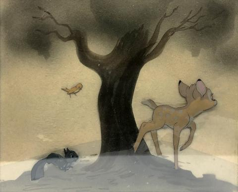 Bambi Production Cel - ID: junbambi18891 Walt Disney