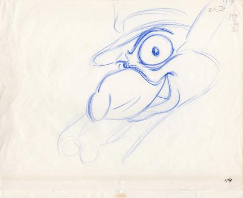 The Great Mouse Detective Production Drawing - ID: jundetective20167 Walt Disney