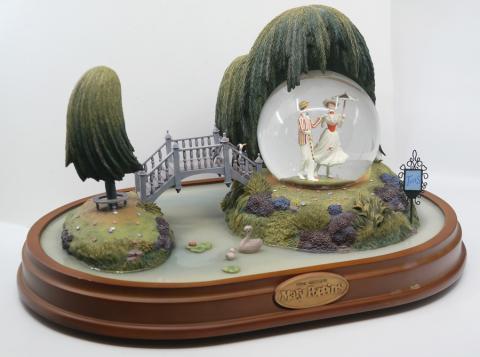 Mary Poppins Musical Snow Globe - ID: jundisneyana20128 Disneyana