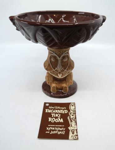 Enchanted Tiki Room Limited Edition Rongo Bowl - ID: jundisneyana20144 Disneyana