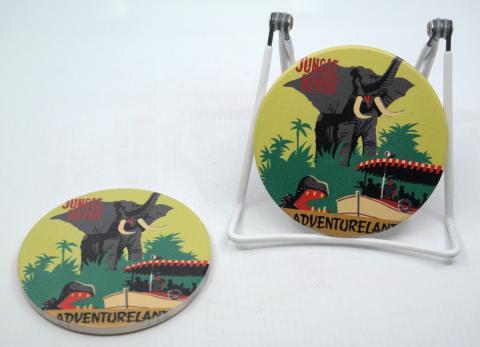 Jungle Cruise Attraction Poster Coasters - ID: jundisneyana20168 Disneyana