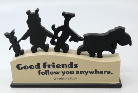 Winnie the Pooh Disney Quote Display - ID: jundisneyana20208 Disneyana