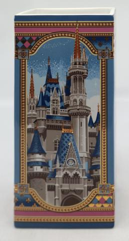 Disneyland & Walt Disney World Castles Vase - ID: jundisneyana20210 Disneyana