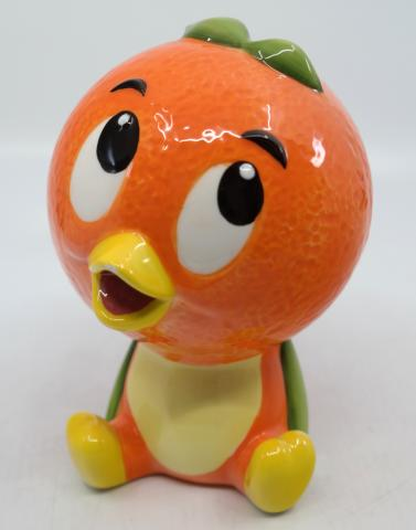 Orange Bird Adventureland Ceramic Figurine - ID: jundisneyana20232 Disneyana