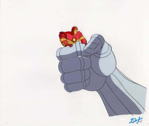 Iron Man Production Cel - ID: junironman20158 Marvel