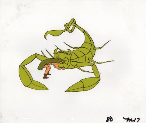 Mighty Mightor Production Cel - ID: junmightor20075 Hanna Barbera