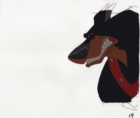 Oliver and Company Production Cel - ID: junoliver20084 Walt Disney