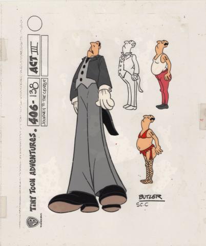 Tiny Toon Adventures Model Cel - ID: juntinytoon20133 Warner Bros.