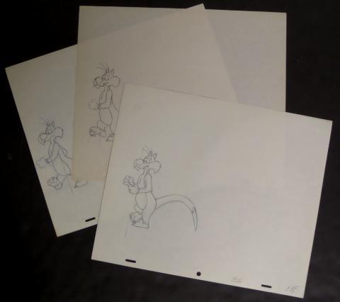 Sylvester Production Drawings - ID: junwb007 Warner Bros.