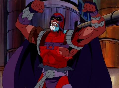 X-Men Production Cel & Background - ID: junxmen010 Marvel