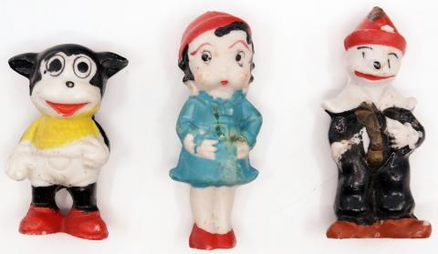 Betty Boop and Pals Set of Bisque Figurines - ID: marbettyboop20077 Fleischer