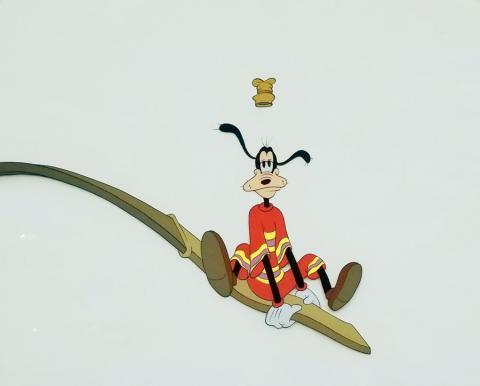 Goofy How to Swim Production Cel - ID: margoofyswim20018 Walt Disney