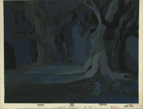 Sword In The Stone Unused Background - ID: marsword20047 Walt Disney