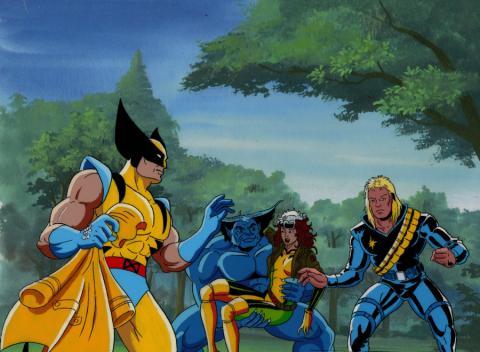 X-Men Production Cel - ID: mayxmen20515 Marvel