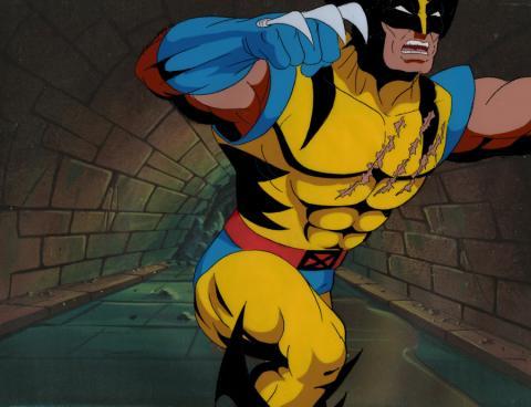 X-Men Production Cel - ID: mayxmen20611 Marvel