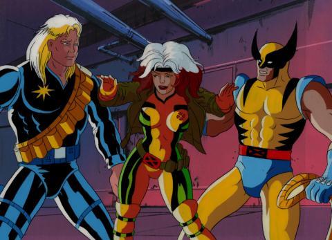 X-Men Production Cel - ID: mayxmen20621 Marvel