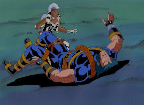X-Men Production Cel - ID: mayxmen20657 Marvel