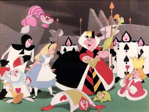 Alice in Wonderland Dye Transfer Limited Edition - ID: novalice20008 Walt Disney