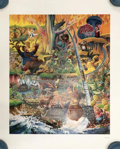 Lauffin' Place Poster Print - ID: octboyer20152 Disneyana