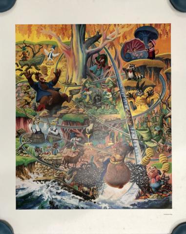 Lauffin' Place Poster Print - ID: octboyer20154 Disneyana