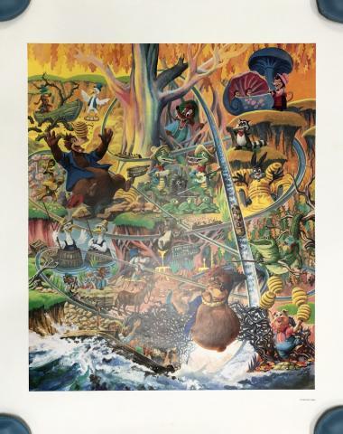 Lauffin' Place Poster Print - ID: octboyer20155 Disneyana