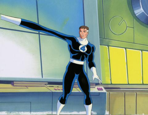 Fantastic Four Production Cel and Drawing - ID: octfantasticfour20019 Marvel