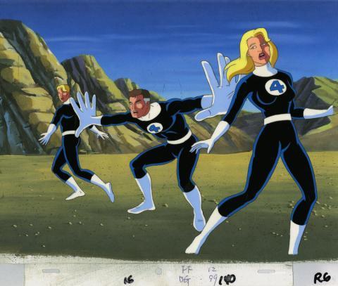Fantastic Four Production Cel - ID: octfantasticfour20039 Marvel