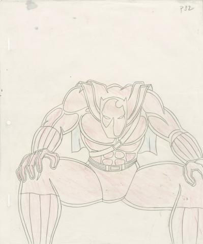 Fantastic Four Production Drawing - ID: octfantfour20129 Marvel