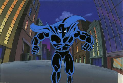 Fantastic Four Production Cel and Background - ID: octfantfour20232 Marvel