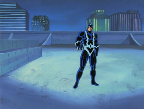 Fantastic Four Production Cel and Background - ID: octfantfour20245 Marvel
