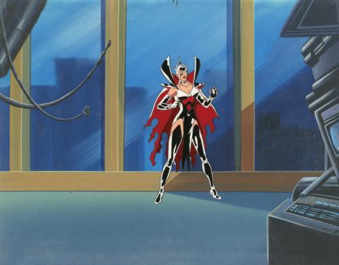 Fantastic Four Production Cel and Background - ID: octfantfour20301 Marvel