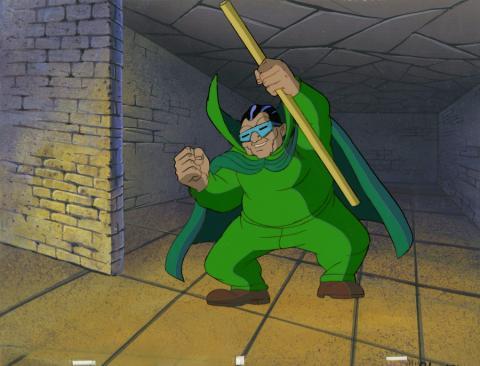 Fantastic Four Production Cel and Background - ID: octfantfour20304 Marvel