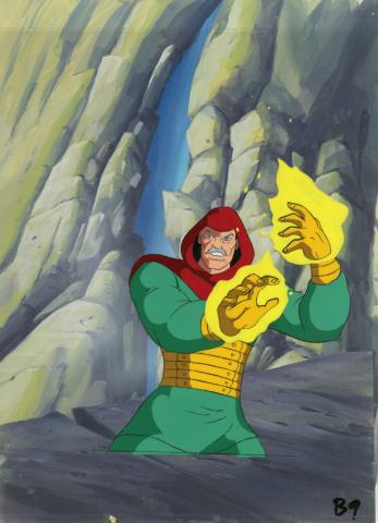 Fantastic Four Production Cel and Background - ID: octfantfour20314 Marvel