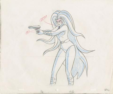 Fantastic Four Production Drawing - ID: octfantfour20464 Marvel