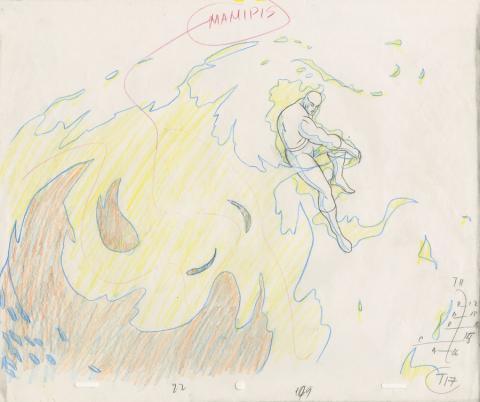 Fantastic Four Production Drawing - ID: octfantfour20465 Marvel