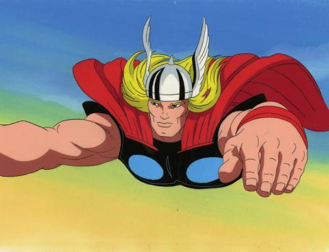 Fantastic Four Production Cel - ID: octfantfour20681 Marvel