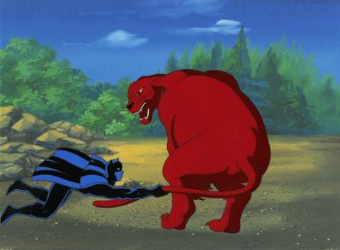 Fantastic Four Production Cel - ID: octfantfour20707 Marvel