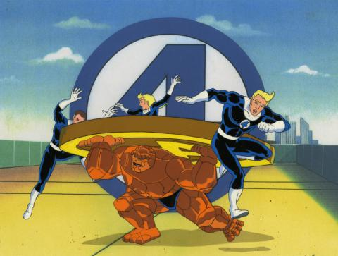 Fantastic Four Production Cel - ID: octfantfour20713 Marvel